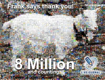Frank says thank you!